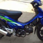 Xe máy Honda Wave độ tốc độ xé gió nhanh hơn Kawasaki