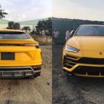 21,8 tỷ đồng là giá bán của Lamborghini URUS vàng tại Việt Nam