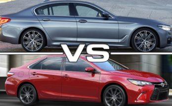 Xe sang BMW và Toyota camry xe nào sướng hơn