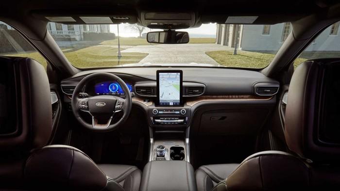 Ford Explorer nội thất xe tuyệt đẹp