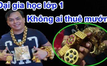 Đại gia đeo 13Kg vàng Phúc XO siêu giàu