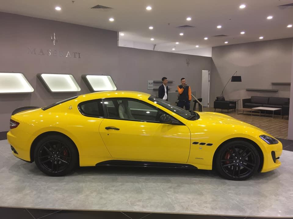 Siêu xe Maserati khủng đẹp của đại gia