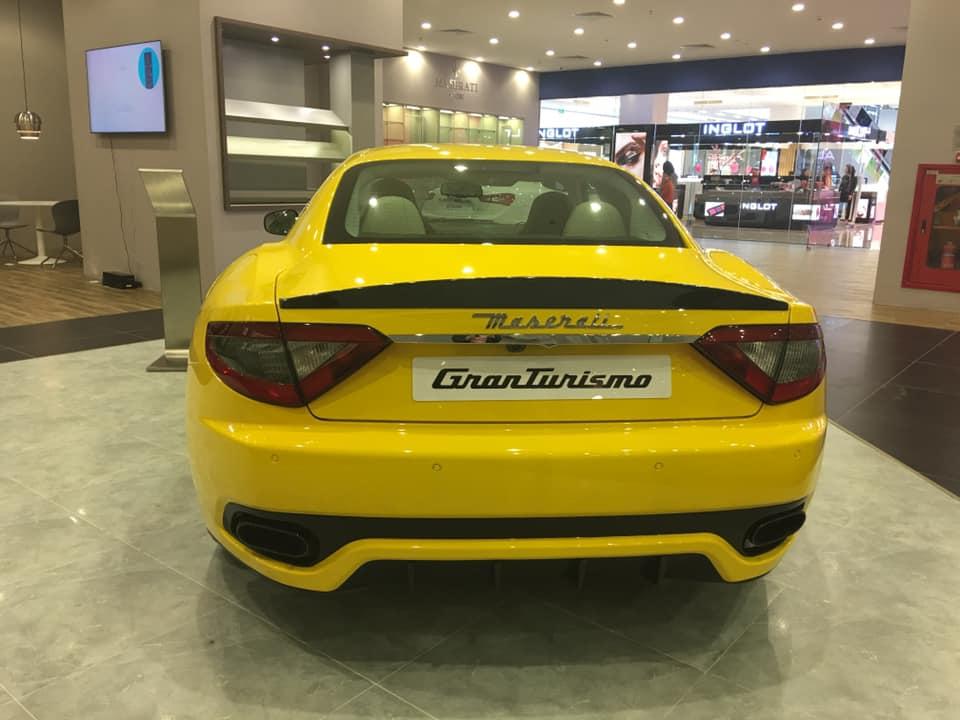 siêu xe Maserati của đại gia