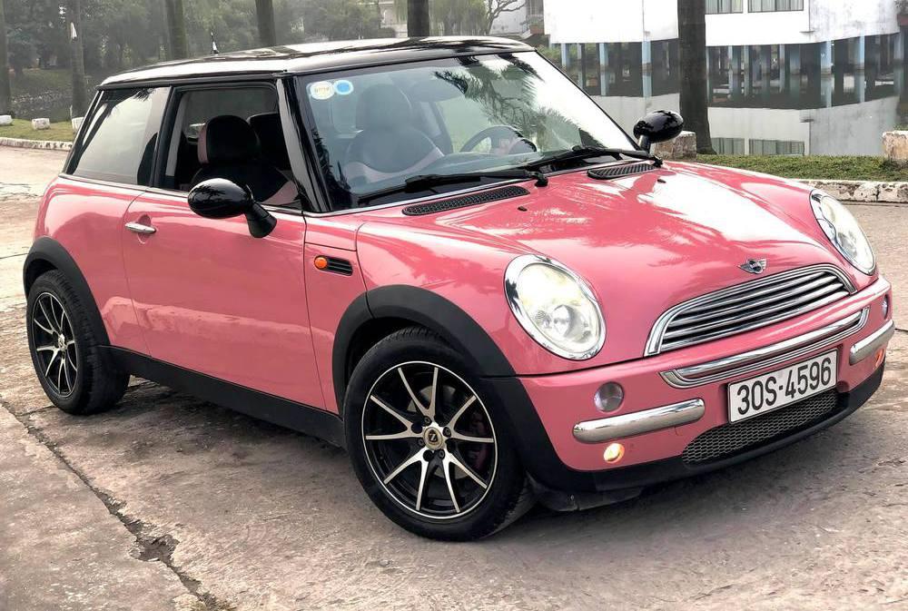 Mini cooper màu hồng tuyệt đẹp cho dân chơi