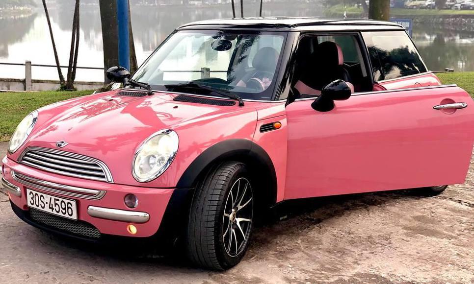 Mini cooper cho dân chơi màu hồng