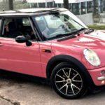 Mini cooper màu hồng nữ tính độ đẹp bán giá 325 triệu