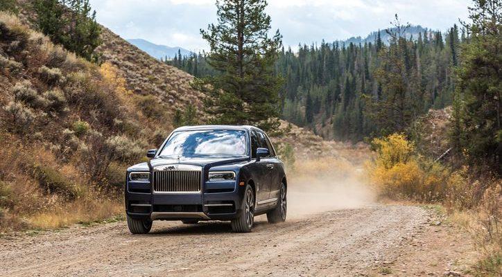 Xe siêu sang Rolls royce doanh số tăng ấn tượng