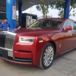 Video Rolls royce Phantom 2019 giá 70 tỷ đồng trên phố Hà Nội