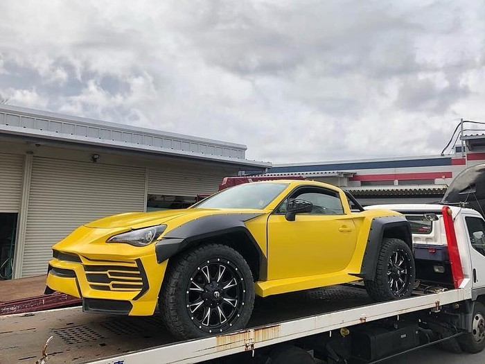 siêu xe độc đáo bán tải Lamborghini