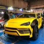 Siêu xe bán tải Lamborghini URUS độ độc đáo bởi sinh viên
