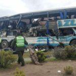52 người thương vong khi 2 xe Buýt đối đầu