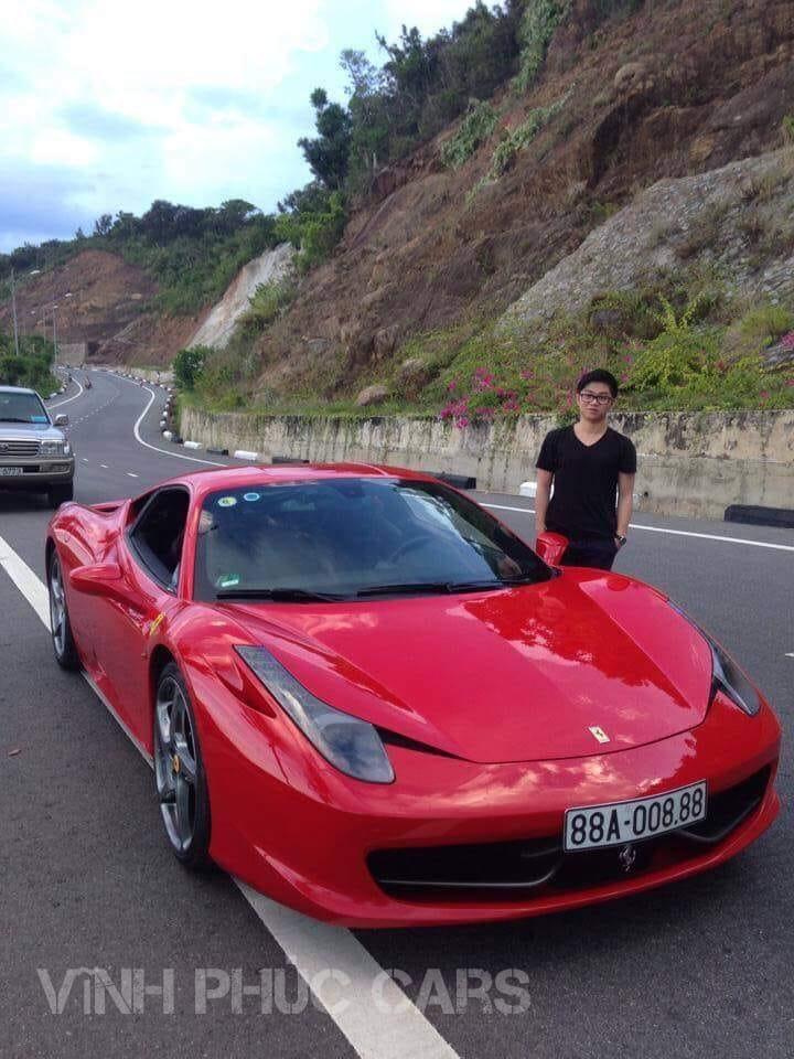 Siêu xe Ferrari Vĩnh Phúc