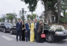 Thiếu gia Nam Định đón dâu bằng xe Limousine