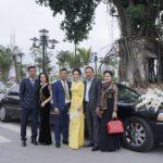 Thiếu gia Nam Định dùng Limousine rước dâu gây xôn xao