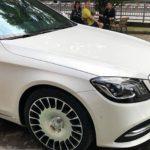 Mercedes S450L độ mâm Maybach siêu sang