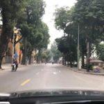 Đường phố Hà Nội vắng vẻ, yên tĩnh ngày đầu năm 2019