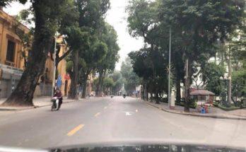 Đường phố Hà Nội yên tĩnh ngày đầu năm 2019