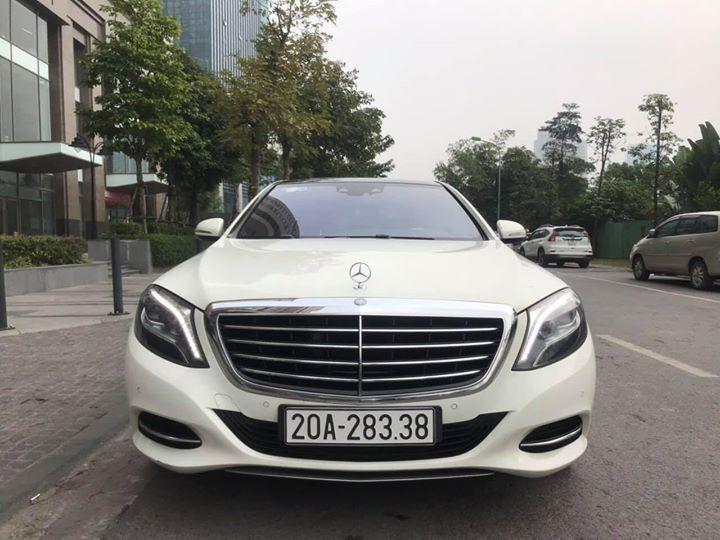 Mercedes S500 của đại gia Thái nguyên