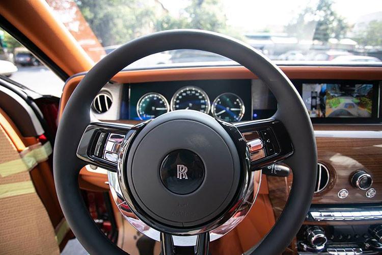 Nội thất xe Rolls royce Phantom của đại gia Campuchia