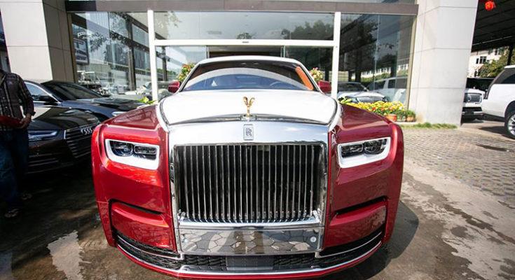 Đại gia Campuchia mua Rolls royce Phantom