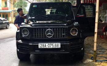 Đại gia Hòa Bình siêu giàu mua Mercedes G63 AMG