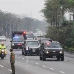 Chi tiết dàn xe tối tân bảo vệ tổng thống Mỹ đã đến Hà Nội