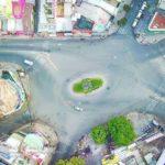 Đường phố Sài Gòn vắng vẻ ngày mùng 1 tết 2019