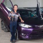 Xe cỏ Toyota Vios bỏ ra 130 triệu độ thành xe 8 bánh