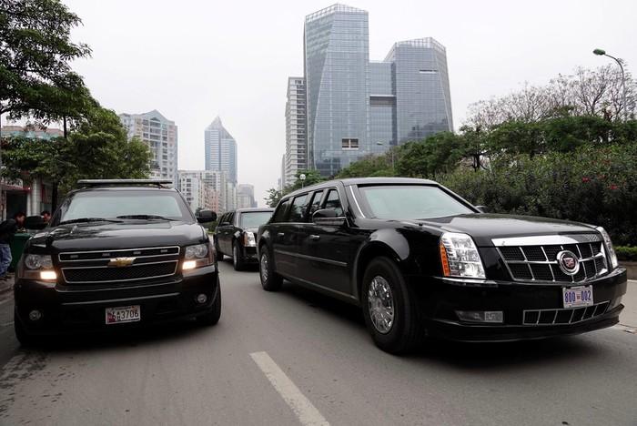 Siêu xe tổng thống về Hà Nội