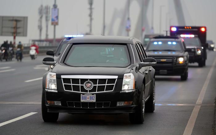 Siêu xe của tổng thống Mỹ