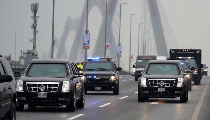 Siêu xe tổng thống Mỹ Donald Trump
