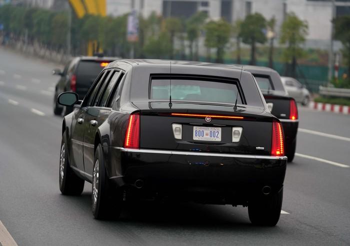 Siêu xe tổng thống Mỹ khủng nhất