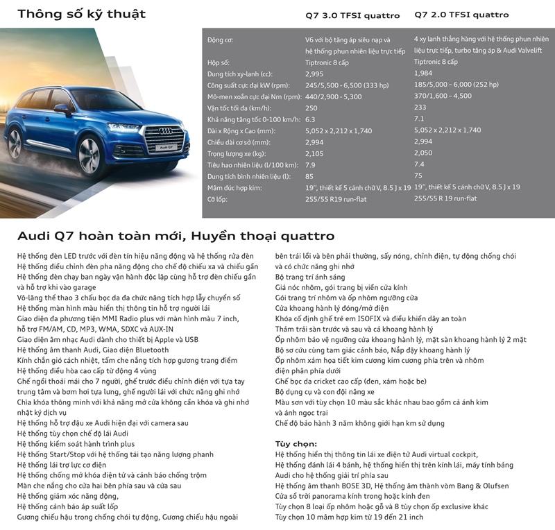 Xe sang Audi Q7 cho đại gia