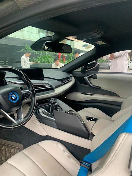 Nội thất siêu xe BMW i8 đẳng cấp