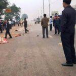 Xe khách đâm vào đoàn người đưa tang, 7 người tử vong