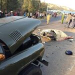 Hai Cảnh sát tử vong khi va chạm xe ô tô Jeep