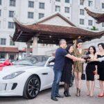 Á hậu Huyền My chơi trội mua xe sang Jaguar F-Type hơn 5 tỷ đồng