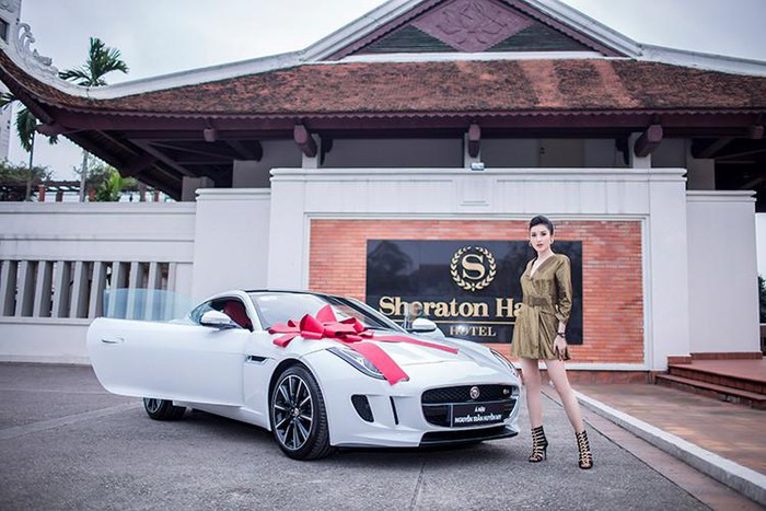 Jaguar hàng khủng của Á hậu Huyền My