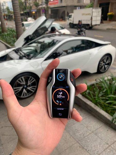 Siêu xe BMW i8 của đại gia Đà Nẵng