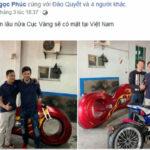 Dân chơi Phúc XO mua siêu xe mô tô Trung Quốc giá 5 tỷ đồng ?