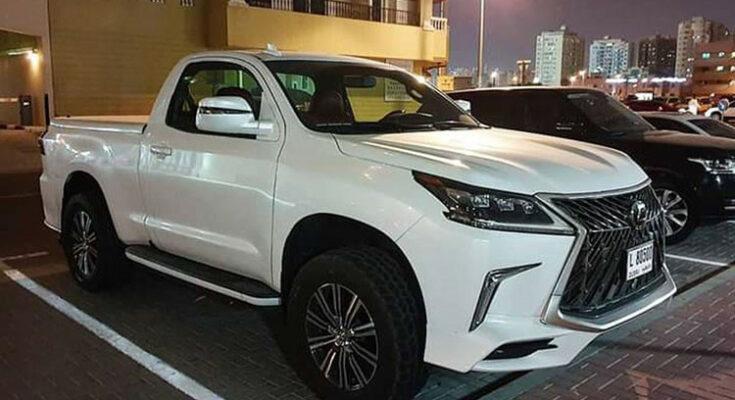 Độ xe Lexus thành bán tải