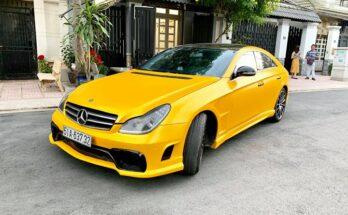 Siêu phẩm độ Mercedes cực đẹp