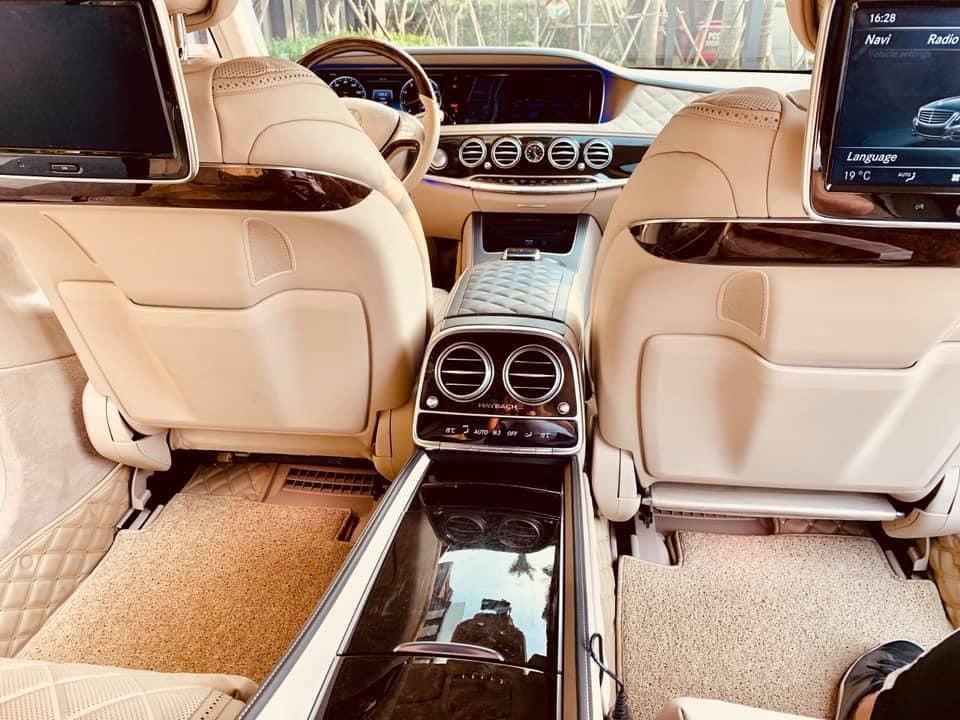Xe siêu sang Mercedes Maybach đỉnh cao