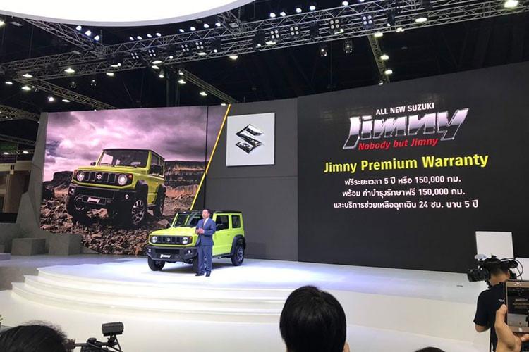 Suzuki Jimny 2019 đại gia Thái Lan