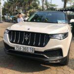 Độ xe Zotye Z8 ở Việt Nam lên Maserati, kịch đồ 30 triệu đồng