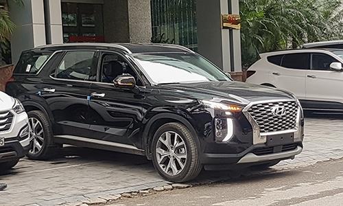 Hyundai Palisade Đẹp trên phố