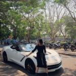 Nữ Biker đầu bảng Huế sắm siêu xe Chevrolet Corvette C7 mui trần