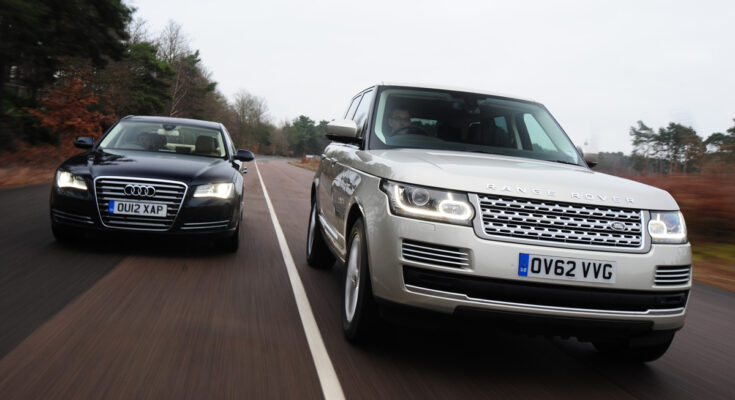 Audi A8L vs range rover