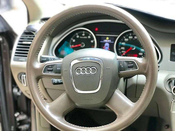Nội thất xe sang Audi Q7 đẹp