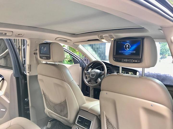 Cửa sổ trời xe sang Audi